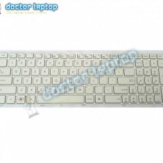 Tastatura alba laptop Asus K53S - Tastatura laptop