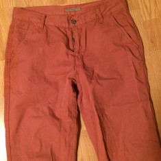 Pantaloni barbati, Marime: 42, Orange, Lungi, Bumbac - Pantaloni Lc Waikiki Xside originali