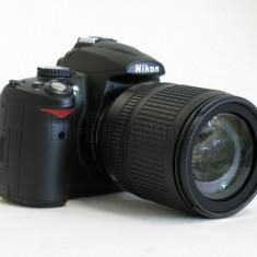 Nikon D5000 cu obiectiv Nikkor 18-105 f/3.5-5.6G ED VR - DSLR Nikon, Kit (cu obiectiv), 12 Mpx, HD
