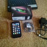 LG E730 - Telefon LG, Negru, Vodafone