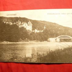 Carte Postala - Ilustrata Calimanesti - Hotel Jantea - Vedere spre Olt- Ed.Mag.Niculescu