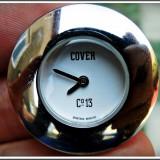AuX: Superb CEAS de dama marca COVER World Co. 13, Swiss Made, waterproof, inox, 24 grame, nu are curea, functioneaza pe baterie, nu l-am incercat! - Ceas dama, Sport, Quartz, Analog, 2000 - prezent