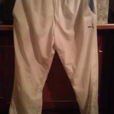 Pantalon trening PUMA albi XL import anglia - Trening barbati Puma, Bumbac