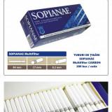 1.000 tuburi de tigari Sopianae Multifilter cu Carbon pentru injectat tutun