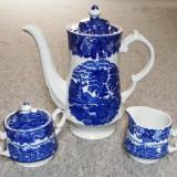 Set / Serviciu - ceai / cafea - portelan Englezesc - Wood Ware - English Scenery, Seturi