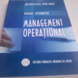 Management operational Roxana Stefanescu - Carte Management