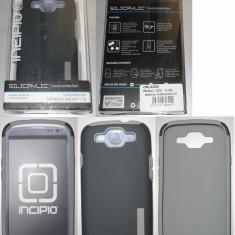 Husa Samsung I9300 Galaxy S III Incipio Silicrylic Duo gri - NOUA, Samsung Galaxy S3, Carcasa