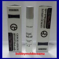 PARFUM BARBAT COLECTIA FEROMON GIORGIO ARMANI BLACK CODE 35ML - Parfum barbati