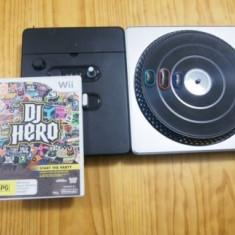Joc wii DJ Hero + consola - Jocuri WII Activision, Simulatoare, 12+, Single player