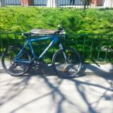 VAND BICICLETA MERIDA - Mountain Bike, 22 inch, 26 inch, Numar viteze: 21, Aluminiu, Albastru