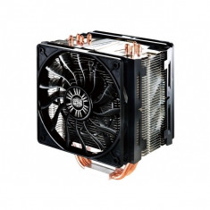 Cooler CPU COOLER MASTER Hyper 412 Slim, ventilator 120mm, PWM, 4x heatpipe, Universal (RR-H412-13FK-R1) - Cooler PC