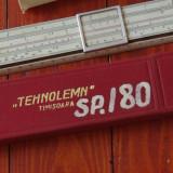 Vintage / set - rigla de calcul cu etui si instructiuni Tehnolemn Timisoara RPR