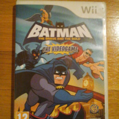 Jocuri WII Altele, Actiune, 12+, Multiplayer - JOC WII BATMAN THE BRAVE AND THE BOLD THE VIDEOGAME ORIGINAL PAL / DARK WADDER