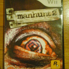 Jocuri WII Rockstar Games, Actiune, 18+, Single player - JOC WII MANHUNT 2 ORIGINAL PAL/ by DARK WADDER