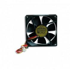 Ventilator carcasa GEMBIRD (FANCASE/BALL), universal de 80mm, Ball Bearing, Negru - Cooler PC