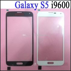 Touchscreen Samsung Galaxy S5 alb produs original GEAM / STICLA / ECRAN - Touchscreen telefon mobil