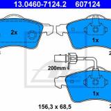 Placute frana VW Transporter - Ate, Volkswagen, TRANSPORTER IV bus (70XB, 70XC, 7DB, 7DW) - [1990 - 2003]