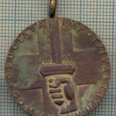 ATAM2001 MEDALIE VECHE 783 -CRUCIADA IMPOTRIVA COMUNISMULUI -1941 - Medalii Romania
