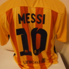 Tricou echipa fotbal - TRICOU FC.BARCELONA MESSI SEZON 2015-2016 MARIMI M si L