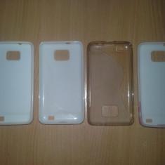 Huse Samsung Galaxy S2 - Husa Telefon Samsung, Alb, Vinyl, Fara snur, Husa
