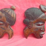 Arta Africana -  cuplu din lemn de abanos !!!