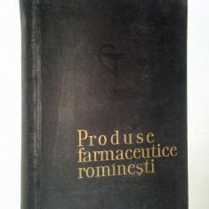 Produse farmaceutice romanesti- 1964 - Carte Farmacologie