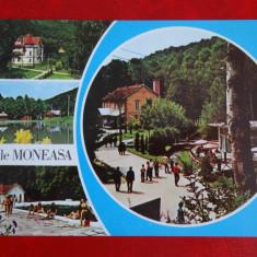 Aug15 - Vedere/ Carte postala - Baile Moneasa, Circulata, Printata