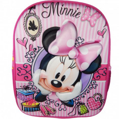 Ghiozdane 3D Disney FROZEN, PRINCESS, MINNIE MOUSE, PRINTESA SOFIA 33x26x10cm.