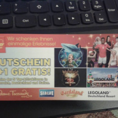 Vând bilet atracții turistice