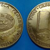 Medalii Romania, An: 1111 - Medalie Centenar biblioteca pentru toti