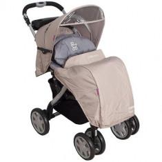Carucior Torre Bej - Carucior copii 2 in 1 Coto Baby