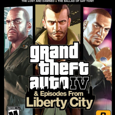Gta IV episodes of liberty city bundle ps3 - Jocuri PS3 Rockstar Games, Shooting, 18+, Single player