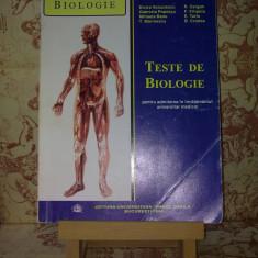 G. Lupu - Teste de biologie pentru admiterea in invatamantul univ med