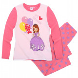 Pijama maneca lunga 2-8 ani, Sofia the First 118590 corai