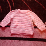 Bluza 0-3luni, Culoare: Roz, Fete