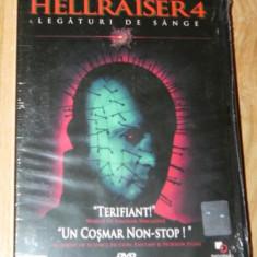 DVD ORIGINAL HELLRAISER 4 / LEGATURI DE SANGE nou. sigilat - Film thriller, Romana