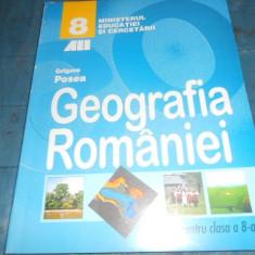 MANUAL GEOGRAFIA ROMANIEI CLASA VIII - Curs diverse stiinte