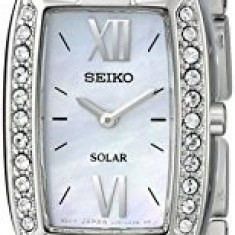 Seiko Women's SUP083 Crystal-Accented Stainless Steel   100% original, import SUA, 10 zile lucratoare af22508 - Ceas dama