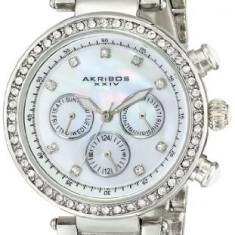 Akribos XXIV Women's AK681SS Lady Diamond | 100% original, import SUA, 10 zile lucratoare af22508 - Ceas dama