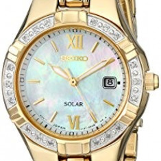 Seiko Women's SUT070 Dress-Solar Classic Watch | 100% original, import SUA, 10 zile lucratoare af22508 - Ceas dama