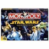 Jocuri Board games - Star Wars Monopoly Board Games Saga Edition (Versiune Engelza)