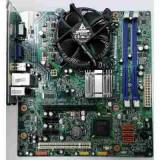 KIT PLACA DE BAZA CU DDR3 SOCKET 775 LENOVO G41+DUAL CORE E5800 3.20GHZ+COOLER, Pentru INTEL, AM2, Contine procesor, MicroATX