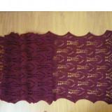 Esarfa, Sal Dama, Lana - Sal dantelat/ Esarfa tricotata manual, noua, subtire, lana 75%