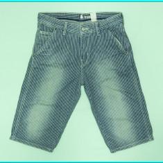 DE FIRMA _ Pantaloni scurti bumbac, practici, H&M _ baieti | 11 - 12 ani | 152, Culoare: Bleumarin