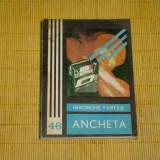 Beletristica - Ancheta - Gheorghe Fartais - Editura Junimea - 1983