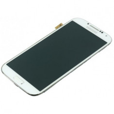 Display LCD cu touchscreen Samsung I9500 Galaxy S4 alb Original