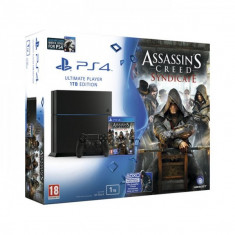 PlayStation 4 Sony - PlayStation® PS4 1TB Assassins Creed Syndicate, Watch Dogs, noi, 2 ani garantie