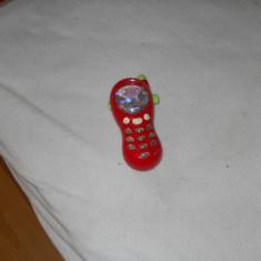 Telefon muzical Chicco rosu pentru copii 6-36 luni, Altele, Unisex