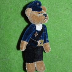 Ursulet de plus - Jucarie plus urs / ursulet (postas, politist, gardian), miniatura, 11cm