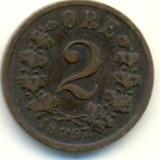 Norvegia 2 ore 1897, Europa, An: 2001